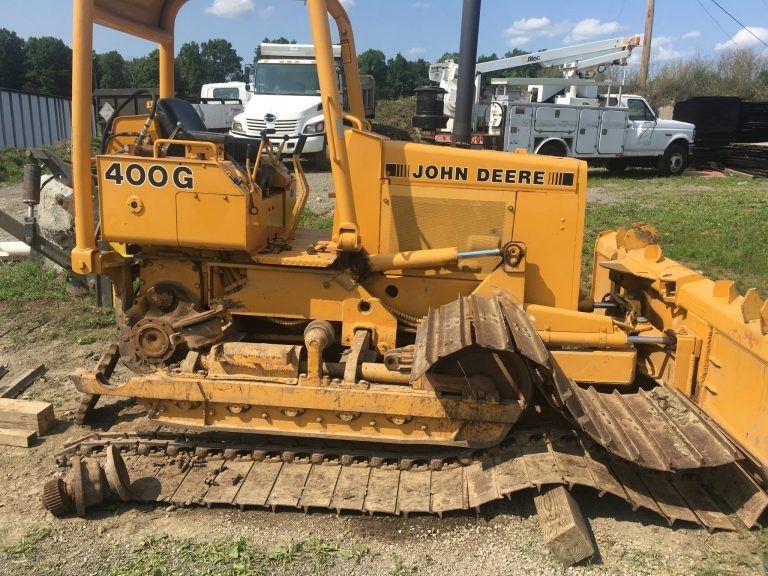 Bull dozer in for under carriage repair- Diesel Engine Repair Photo