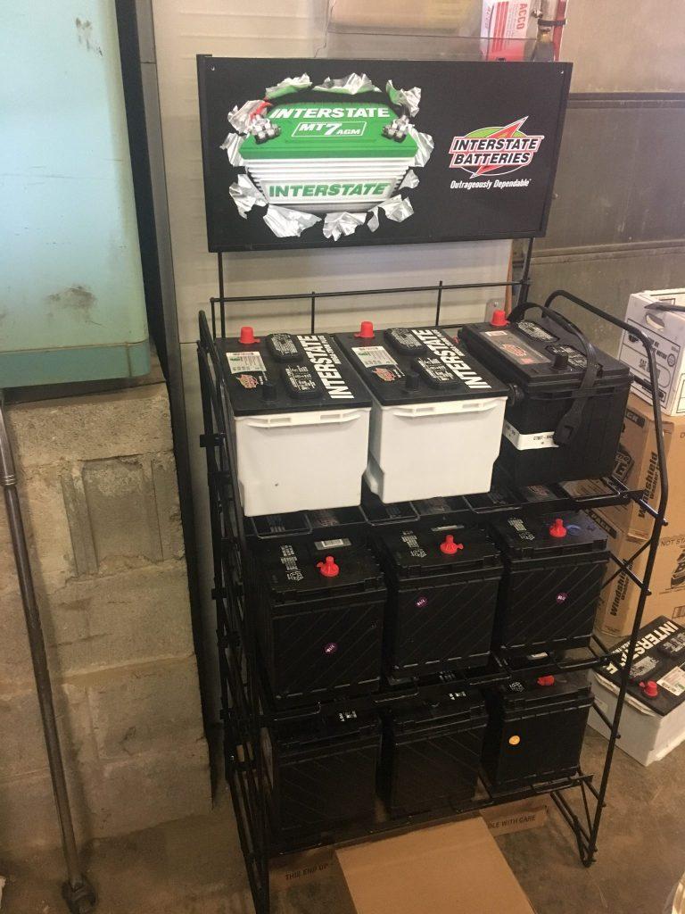 We stock and sell Interstate batteries- Diesel Engine Repair Photo
