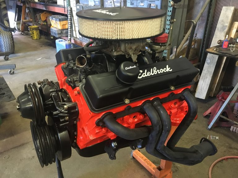 Engine repair complete - Diesel Engine Repair Photo