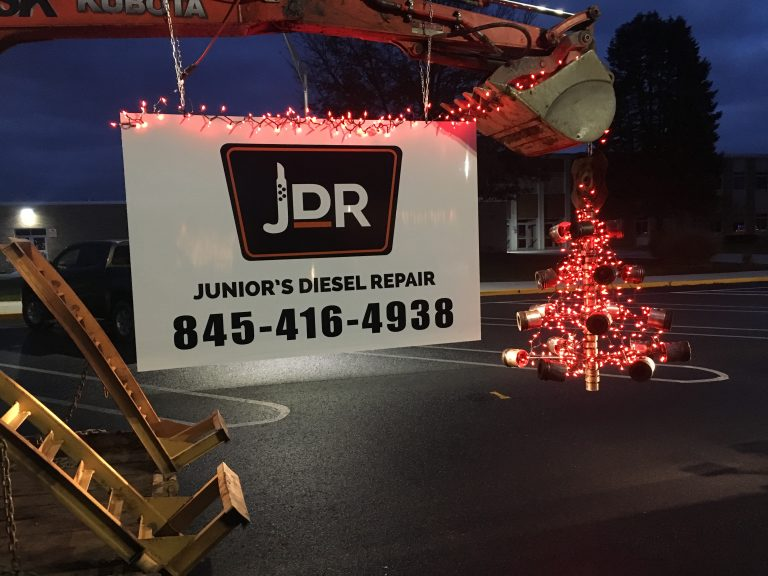 JDR in the Pine Plains Parade of Lights- Diesel Engine Repair Photo