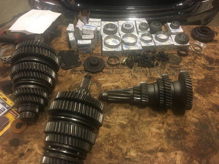 Transmission rebuild- Diesel Engine Repair Photo