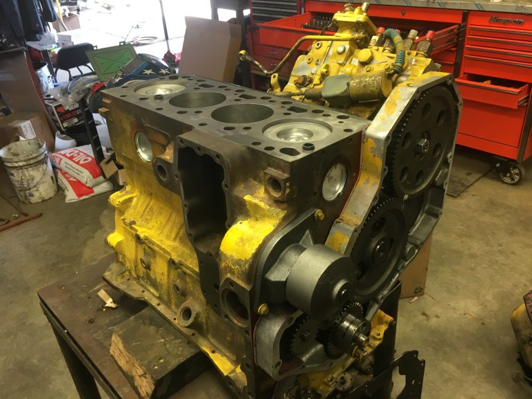 4BT Cummins rebuild